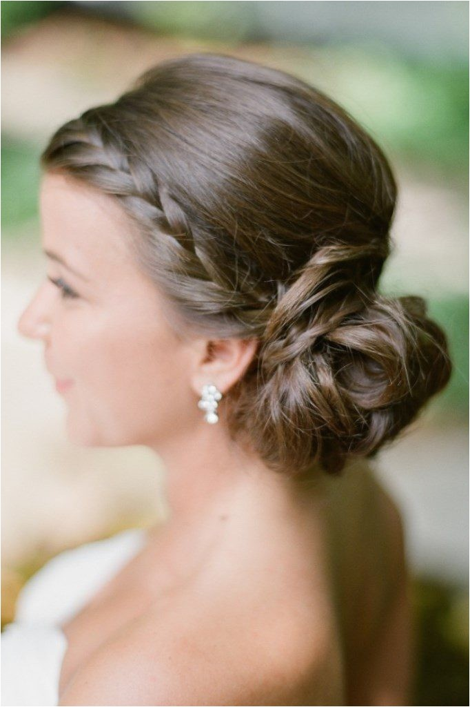 the knot wedding hair