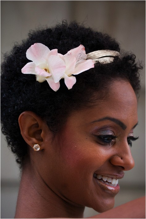 7 natural hair styles for brides