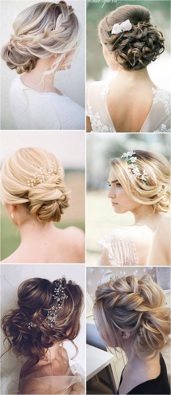 2017 new wedding hairstyles for brides and flower girls p