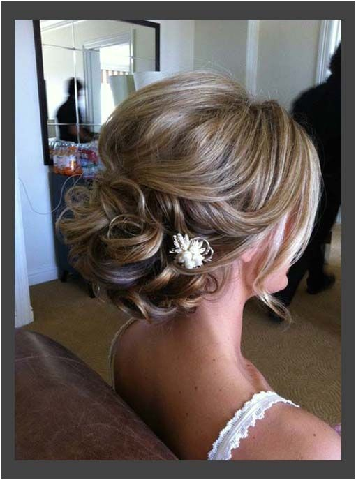 16 pretty chic updos medium length hair