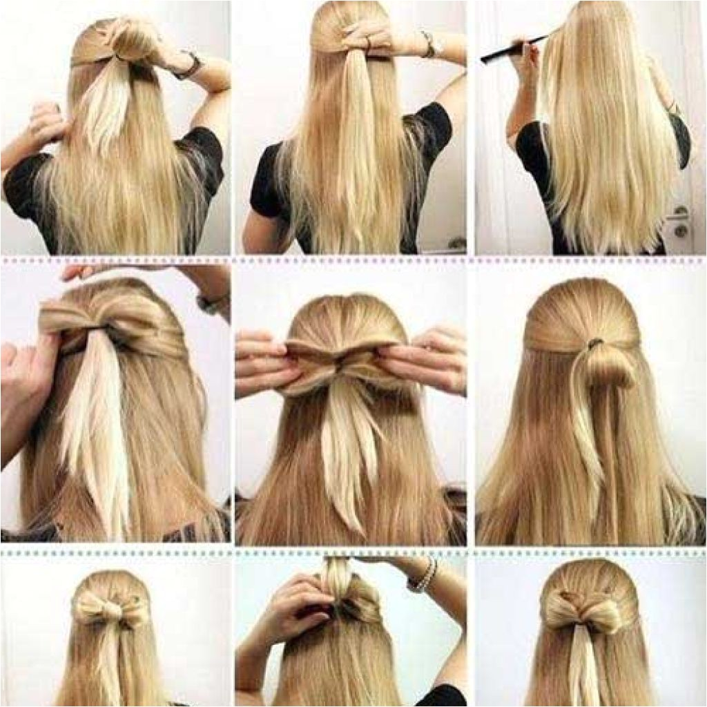 simple hairstyles for medium hair for school
