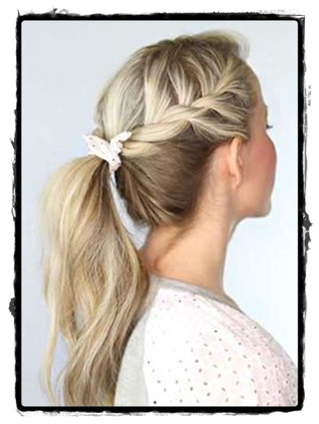 Very Easy Hairstyles for School Beautiful Simple Hairstyles for School Look Cute In