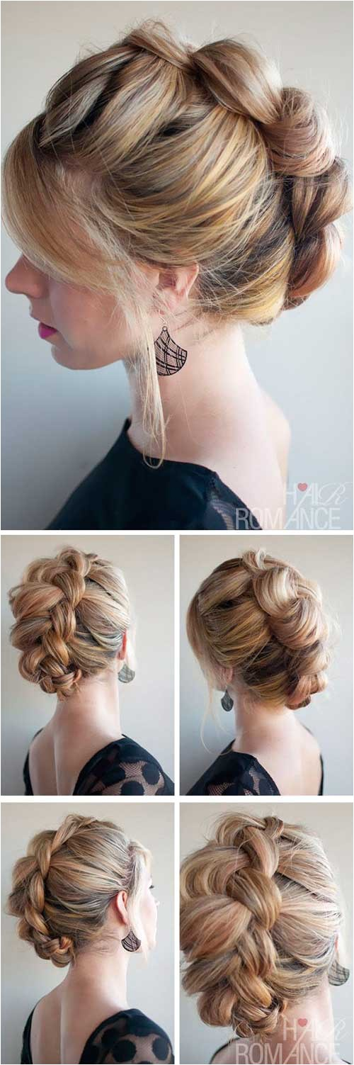 Very Easy Updo Hairstyles 20 Easy Long Hair Updos