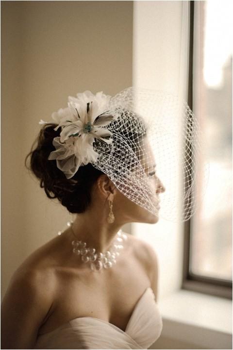 76 adorable vintage birdcage veils