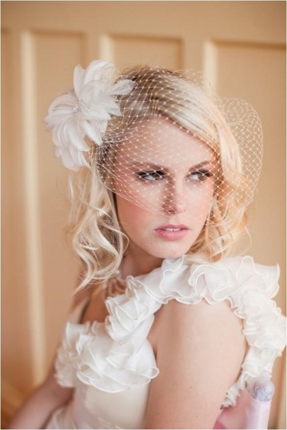 wedding hair and veils