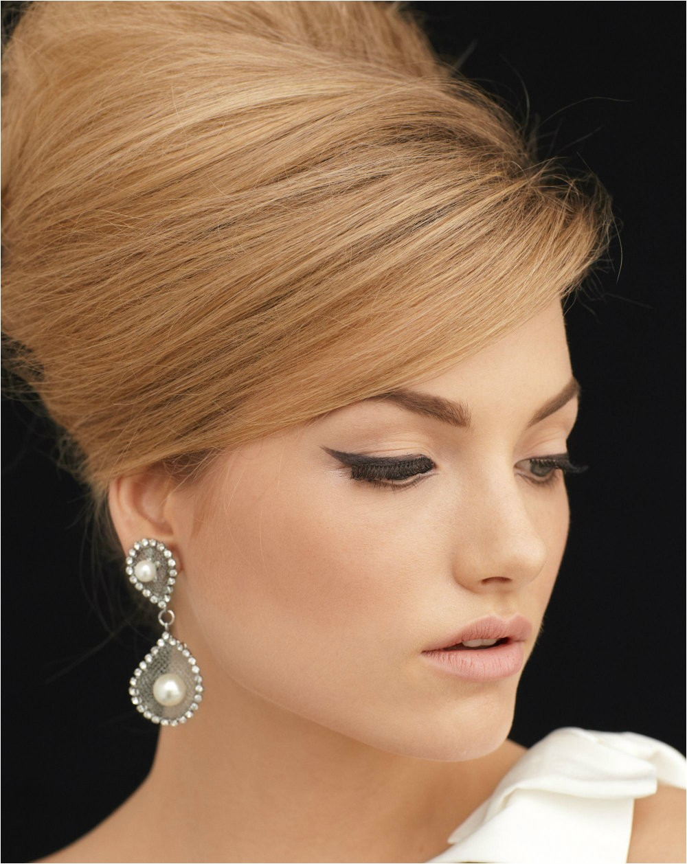 the look with perfect bridal hairstyles