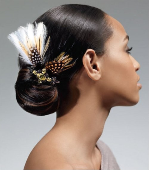 15 superb black wedding hairstyles