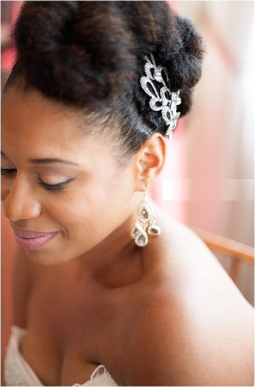 black wedding hairstyles with natural hair