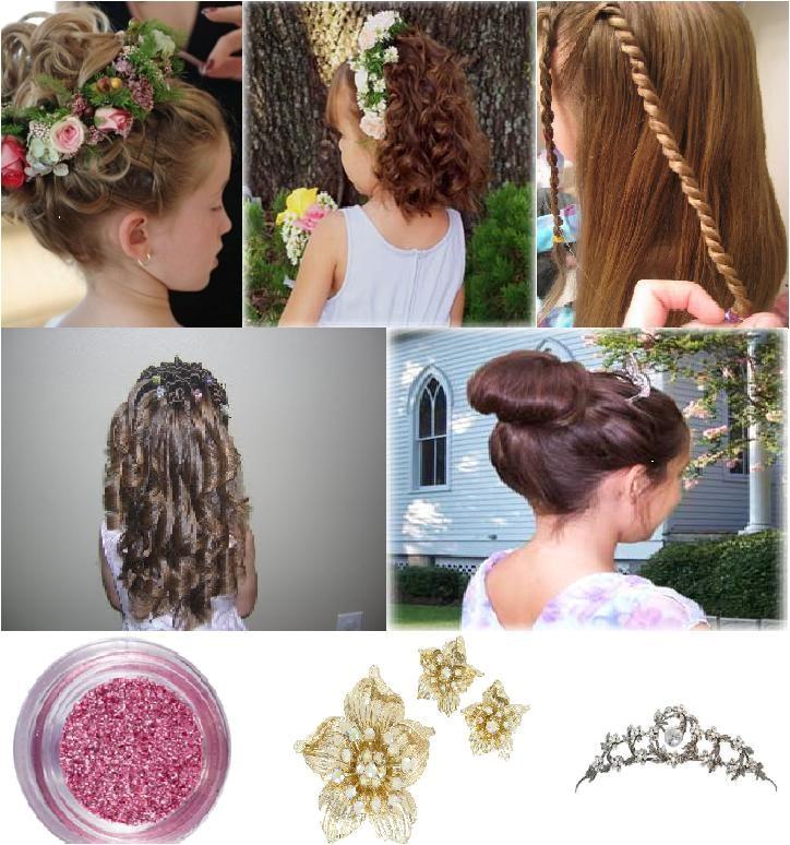 wedding hairstyles for children 8778