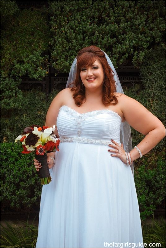 Wedding Hairstyles for Fat Brides 1