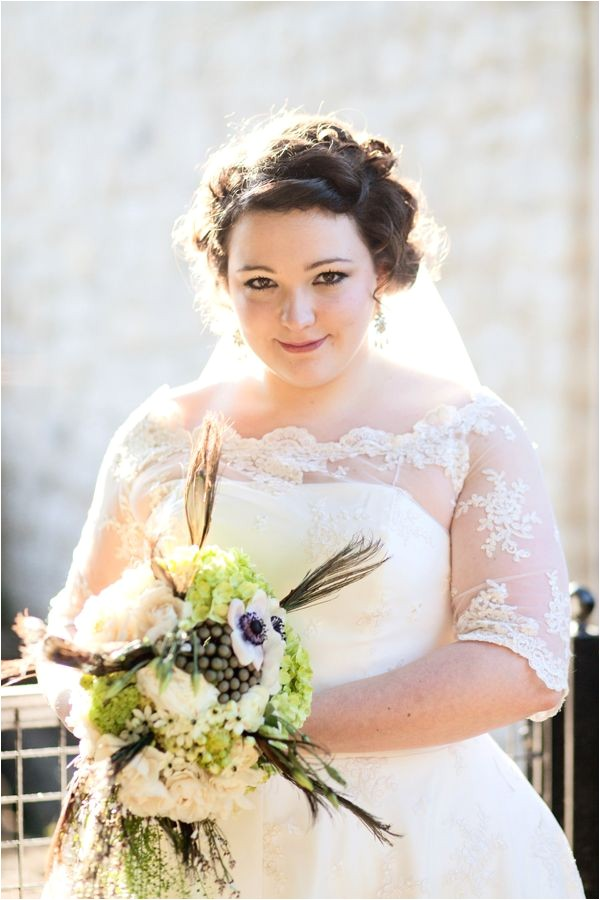 flattering wedding dress silhouettes for plus size brides