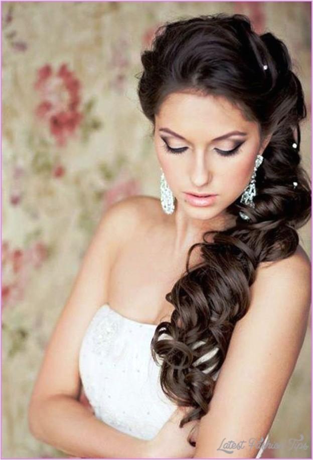 bridal hairstyles long hair 2