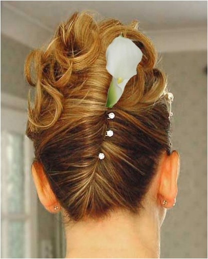 maid of honour hairstyles for short hair