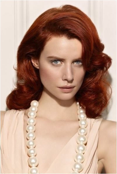 red hairstyles for women
