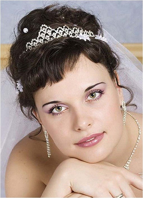beautiful wedding hairstyles for medium length hair with bangs 2014