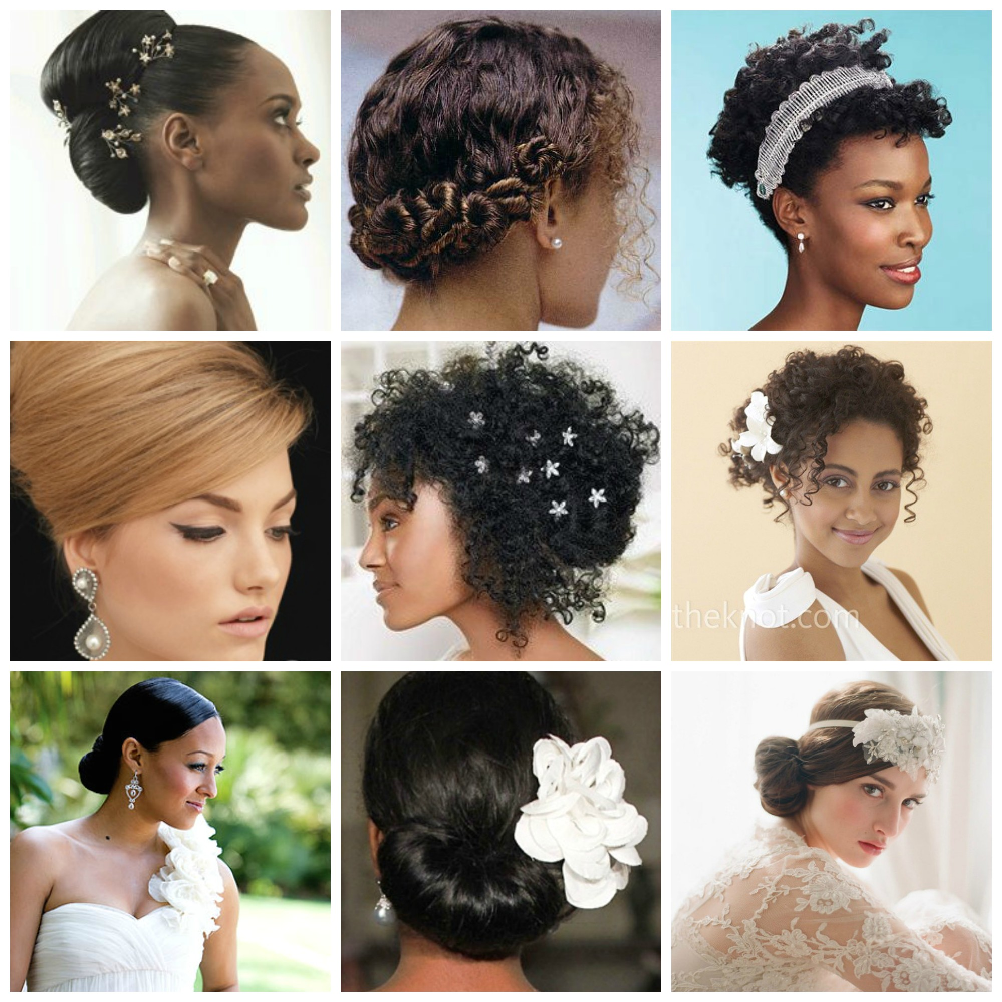 wedding hairstyle ideas for curly hair