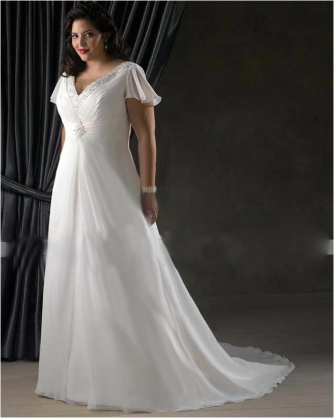 best wedding dress styles for plus size brides plus size c4b49d210cbc7831