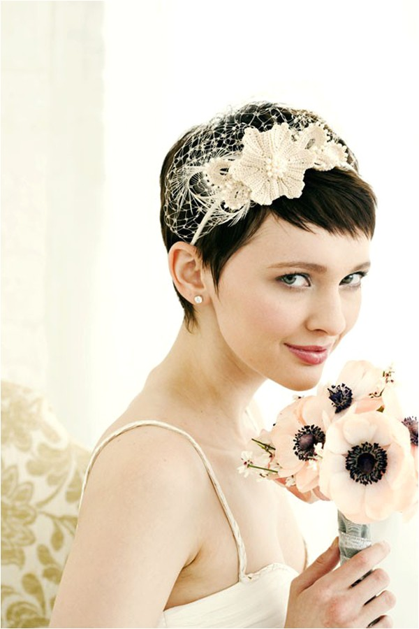 wedding short hair ideas