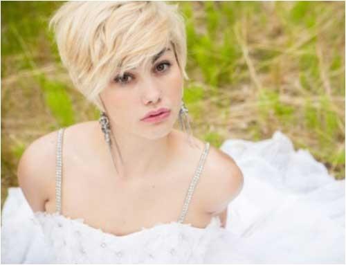10 super short bridal hairstyles