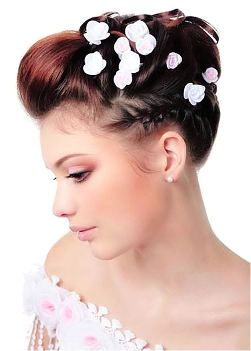 Wedding Hairstyles for Short Hair Pictures 20 Short Wedding Hair Ideas