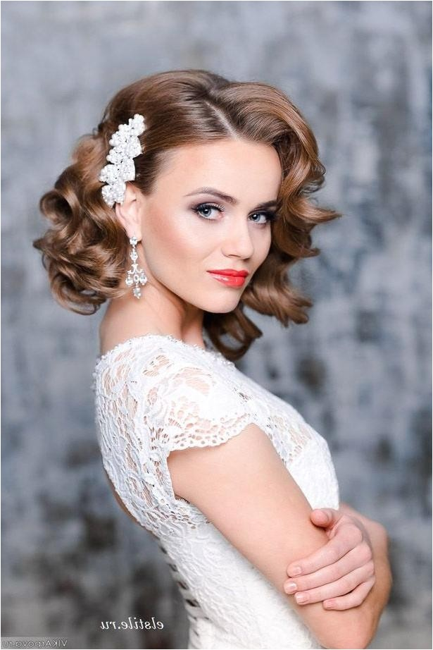 bridal hairstyle pictures for short hair