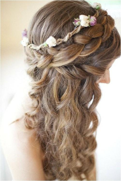 cute wedding hairstyles for long hair bridesmaids