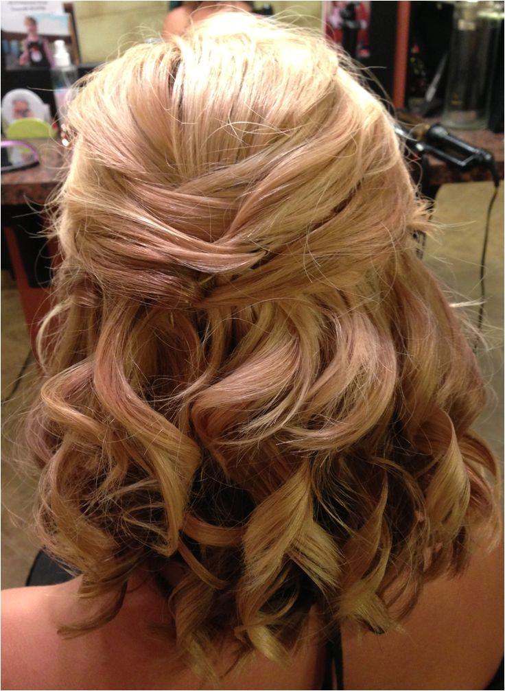 impressive half up half down hairstyles wedding designs