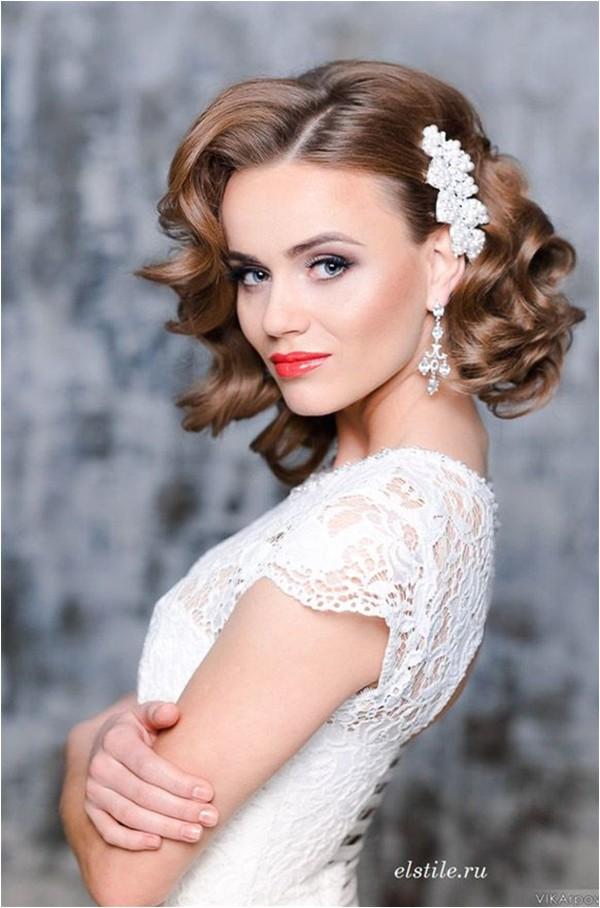 fantastic wedding hairstyles for short hair
