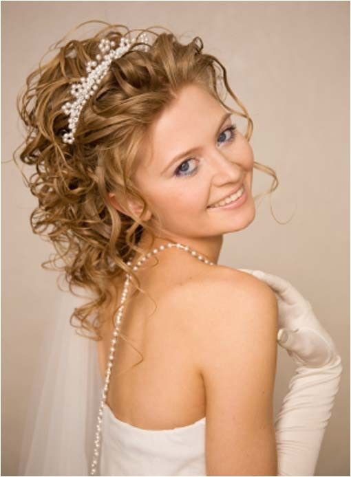 Wedding Hairstyles Updos with Curls Medium Hairstyles for Curly Hair