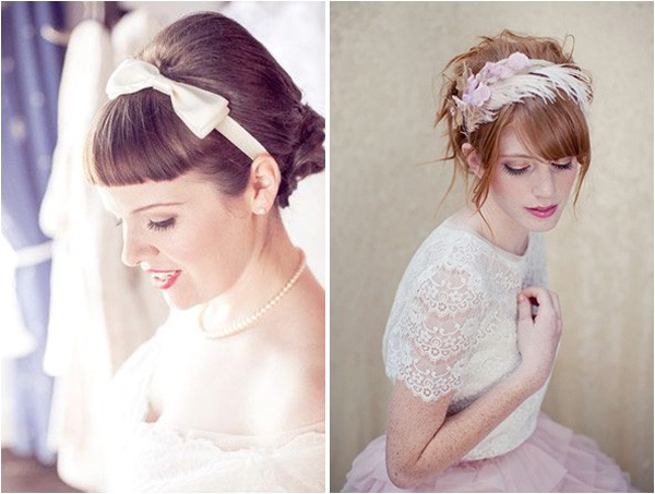wedding hairstyles with fringes