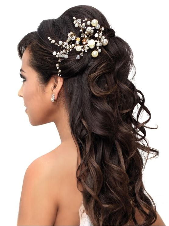 inspiring ideas on long bridal hairstyles
