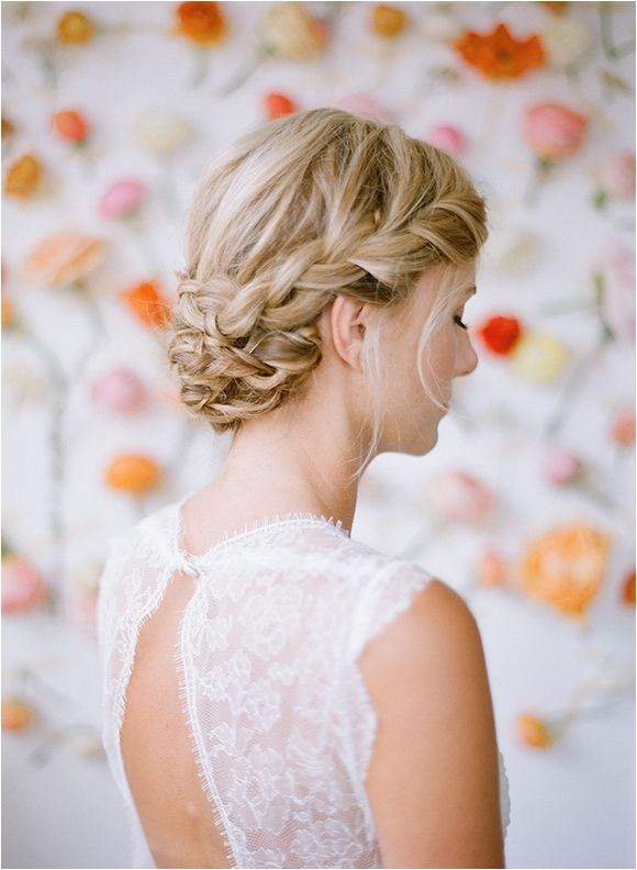 bridal hair inspiration plaits