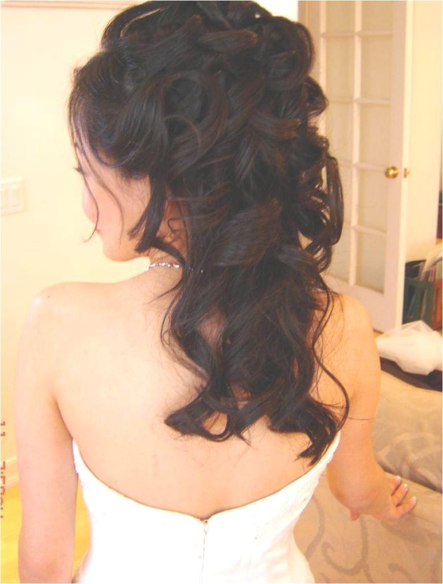 Wedding Half Updo Hairstyles Elegant Vintage Hairstyles for Long Hair