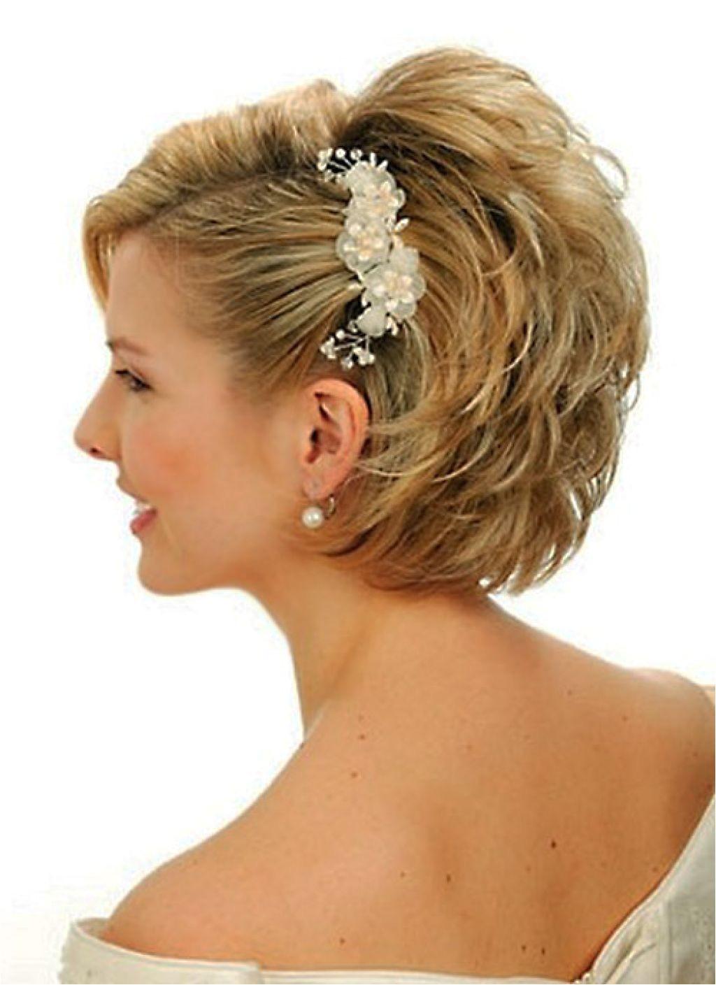 wedding hairstyles for short hair womens