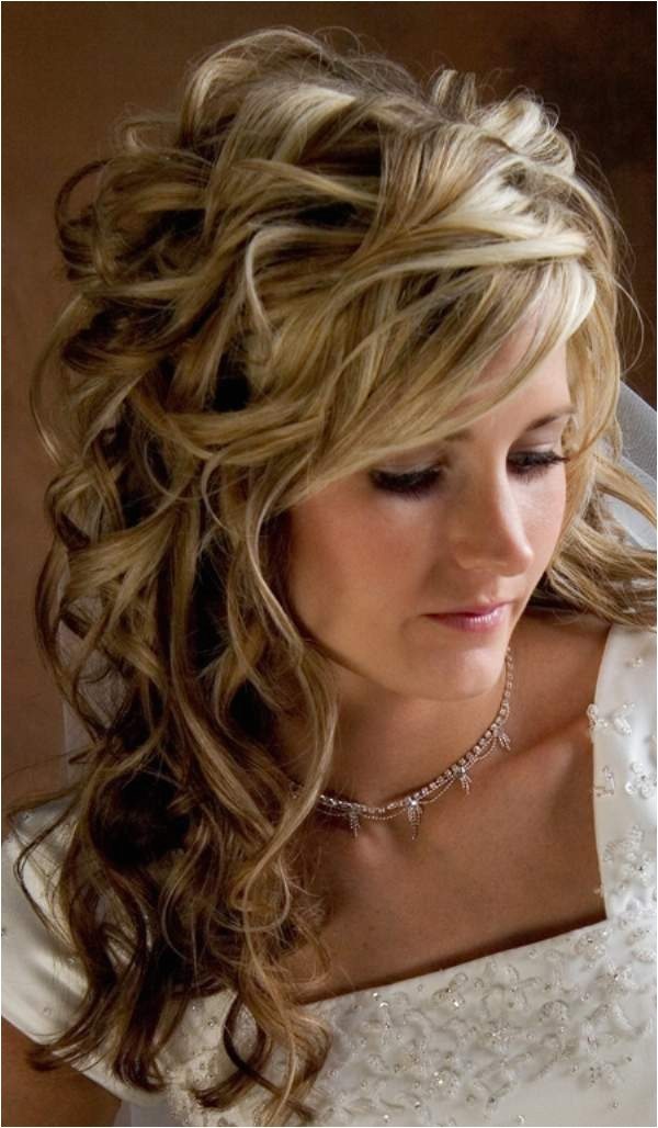 wedding hairstyles half up designs