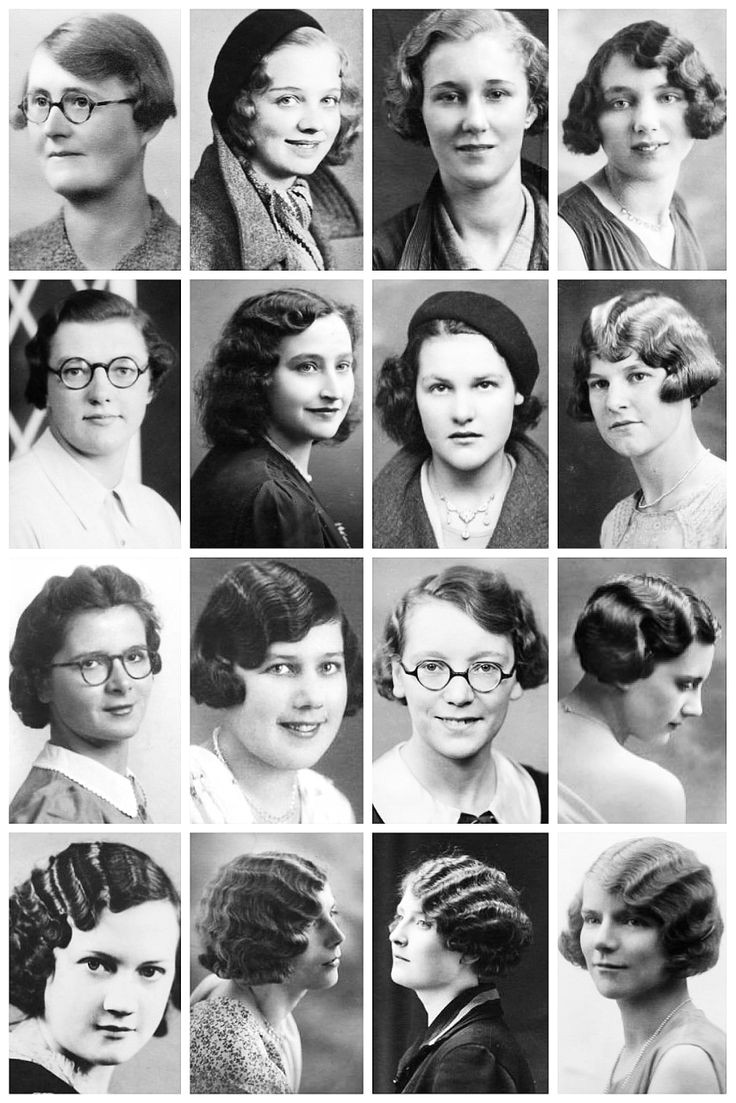 Amazing Vintage Portrait s Depict Women s Hairstyles of the
