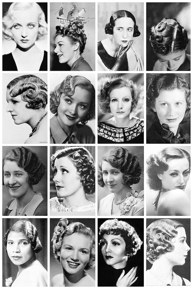 Pg 4 1930 s Hairstyles A collection of 1930 s