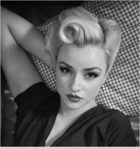 1940 Womens Hairstyles 1940s Hairstyles for Long Hair Style Wish Book Pinterest