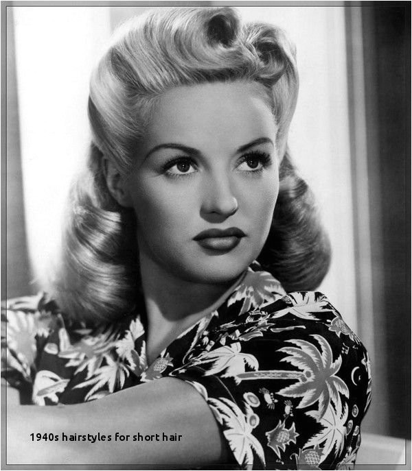 1940s Hairstyles for Short Hair 31 Simple and Easy 50s Hairstyles with Tutorials