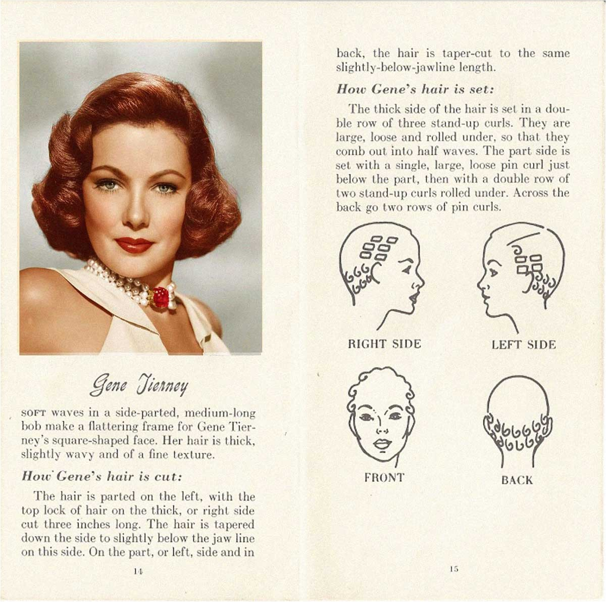 10 HOLLYWOOD HAIRSTYLES of the 50s gene