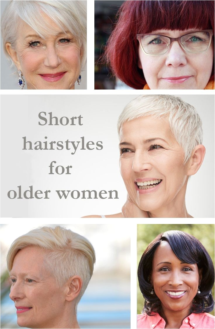 Short hairstyles Beauty for over 50s Pinterest