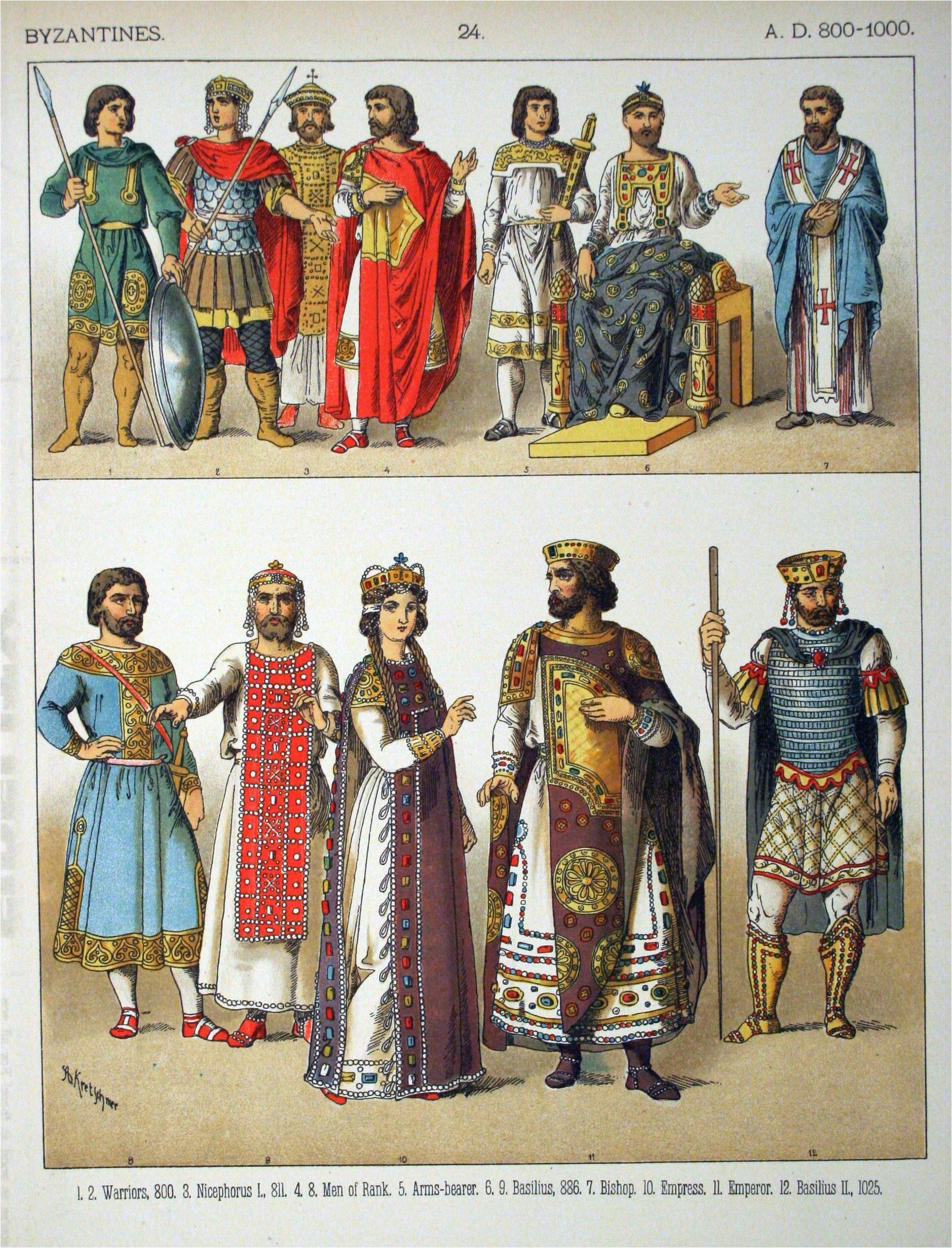 Costumes of All Nations 1882 BYZANTINE Historical Clothing Historical Costume Women s Clothing