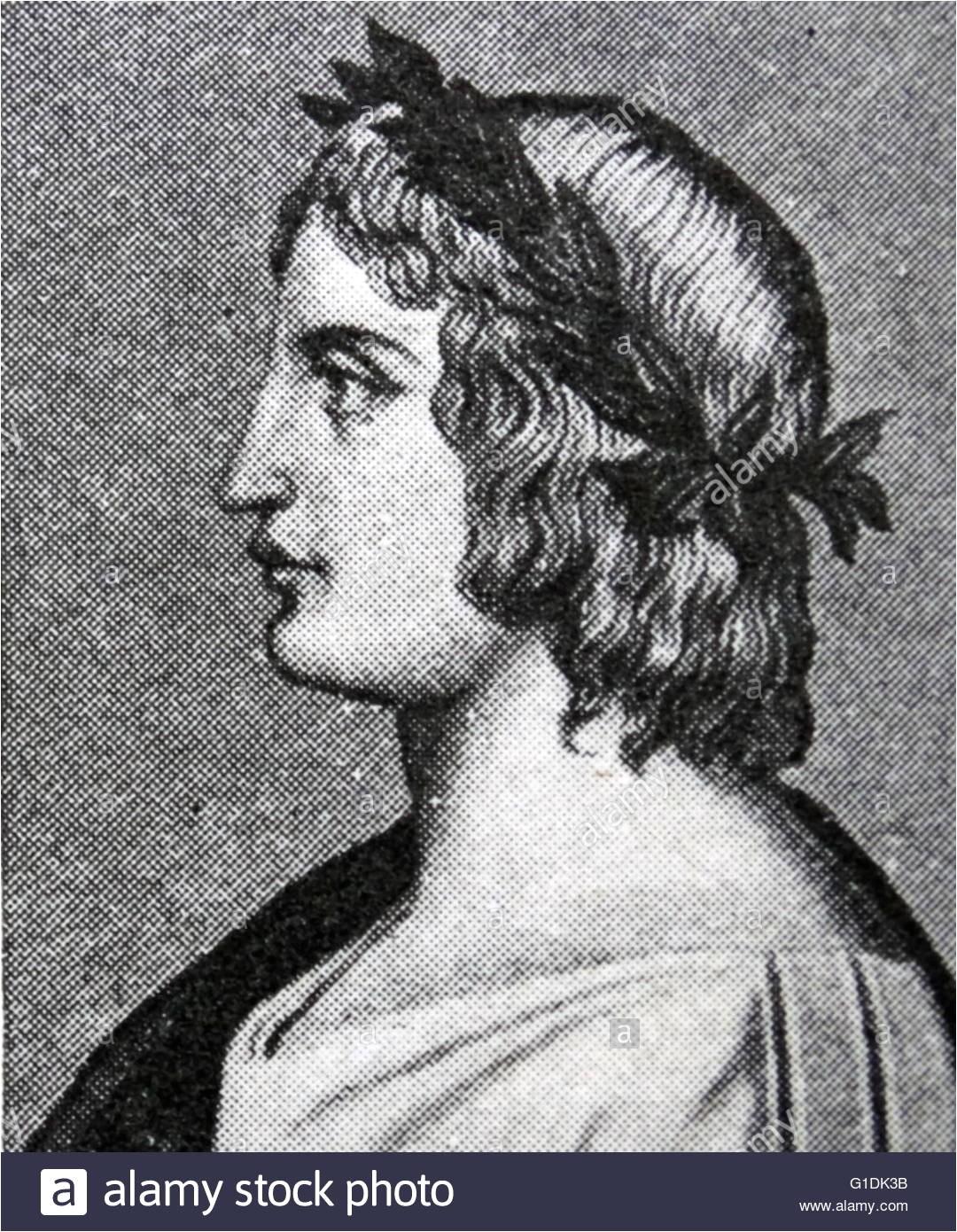 Portrait of Publius Vergilius Maro 70 19 BC an ancient Roman poet of
