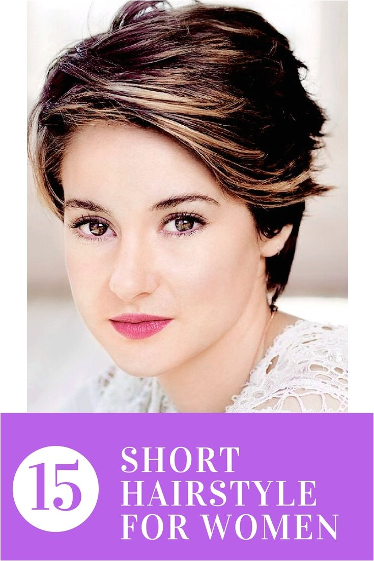 Short hairstyles are always trendy and popular for their easy and low maintenance feature Short hair lovers e here and look at these 15 Ama…
