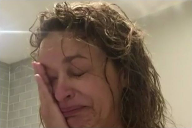 The Loose Women presenter told in an emotional video that she carries a hair loss gene Image Supplied by WENN