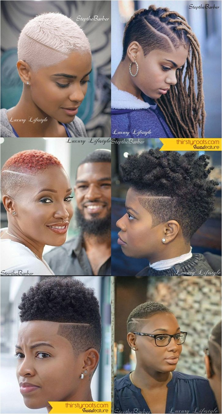 Short Fade Haircuts for Black Women by Step the Barber in Atlanta