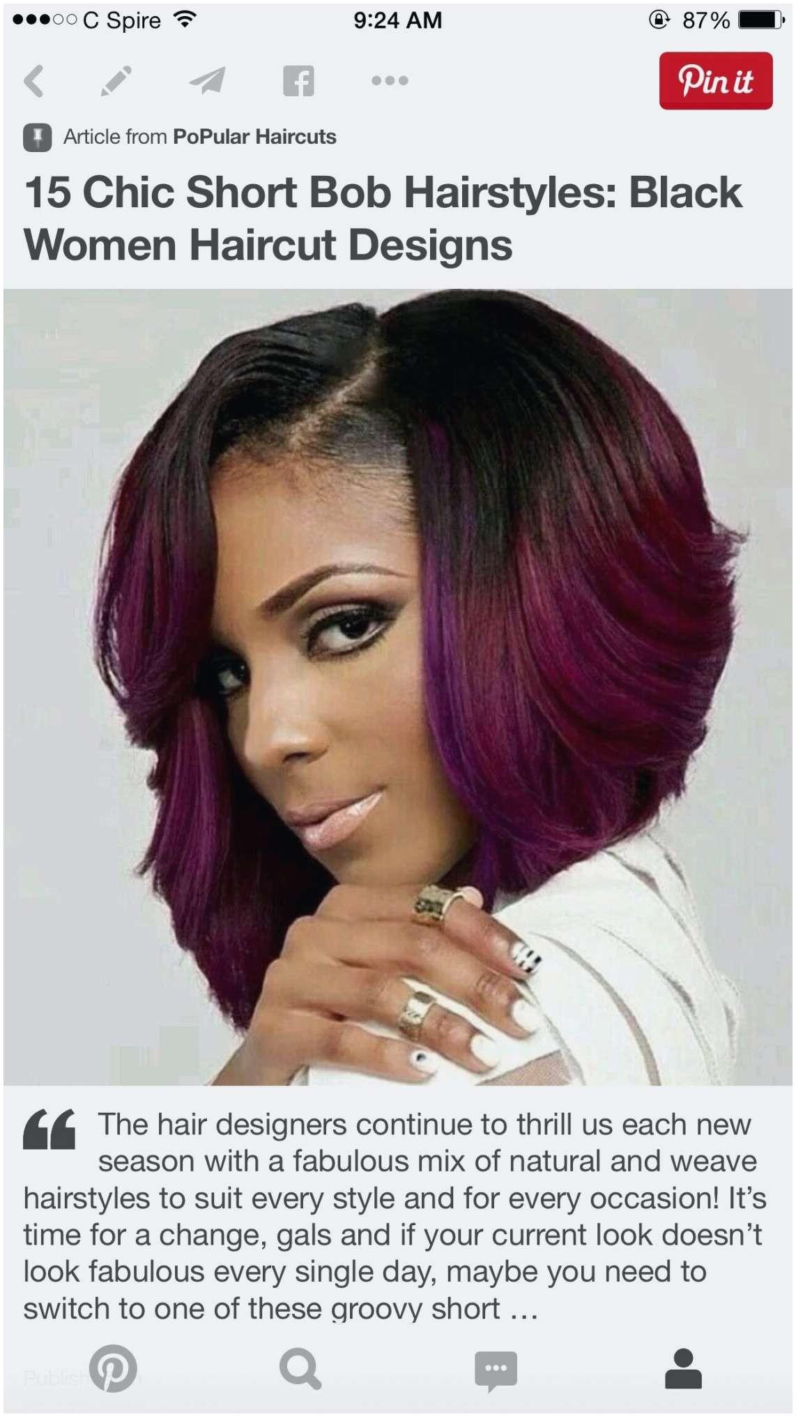 Fresh Asymmetrical Bob Black Hairstyles Luxury Lovely Pin Od Araeuna Smith For Choice Weave Hairstyles