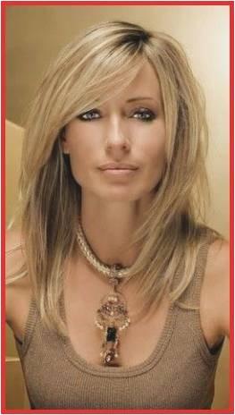 Medium Length Layered Bob Hairstyles Shoulder Haircuts for Women Shoulder Length Hairstyles with Bangs 0d