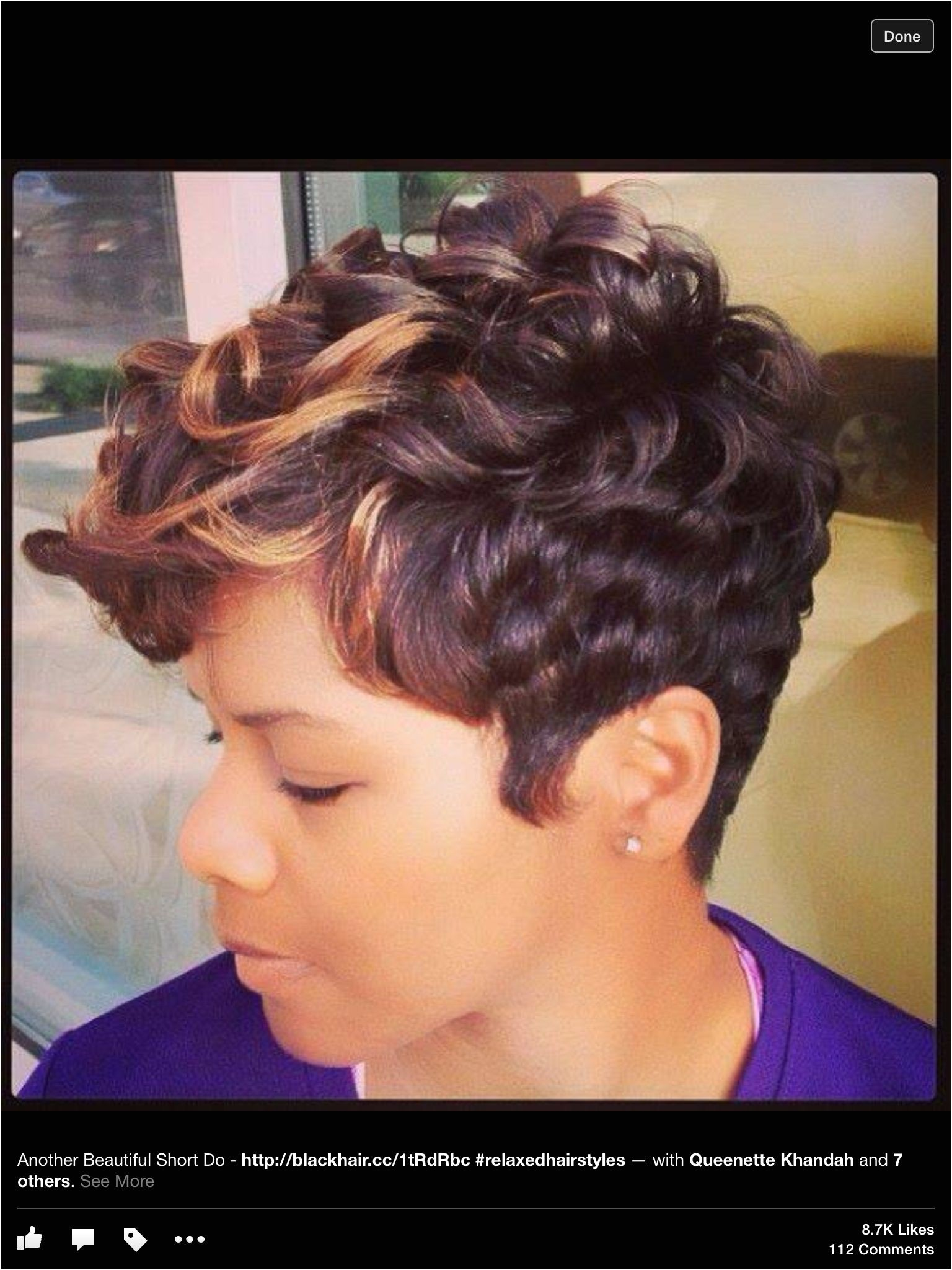 Cute Short Black Hairstyles Relaxed Hairstyles Amazing Hairstyles Short