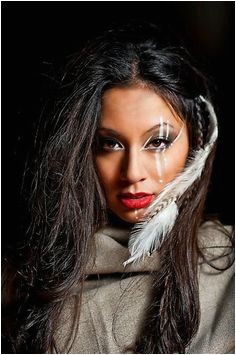 Stunning Native American Woman from the Navajo Nation d by Edith Cruz
